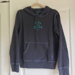 Life Is Good Tops - Life is good sweatshirt